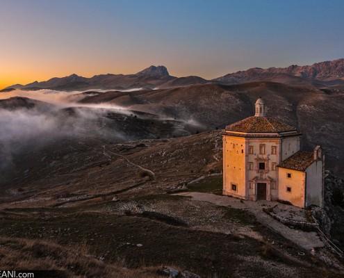 Rocca Calascio, la Chiesa