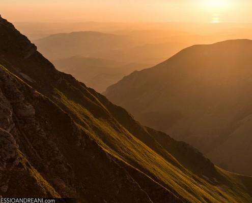 Alba sui Monti Sibillini