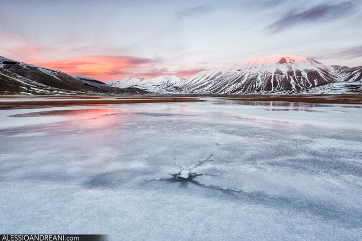 Castelluccio di Norcia in Inverno