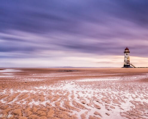 Talacre seascape lighthouse