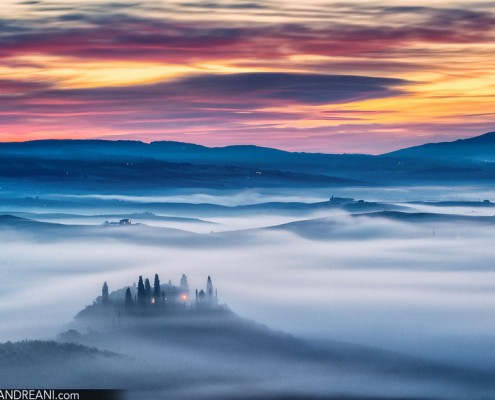 Tuscany landscape photography