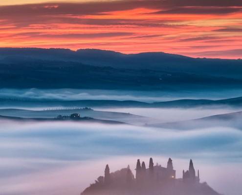Tuscany foto di paesaggio