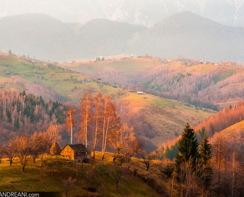 Landscape of Romania