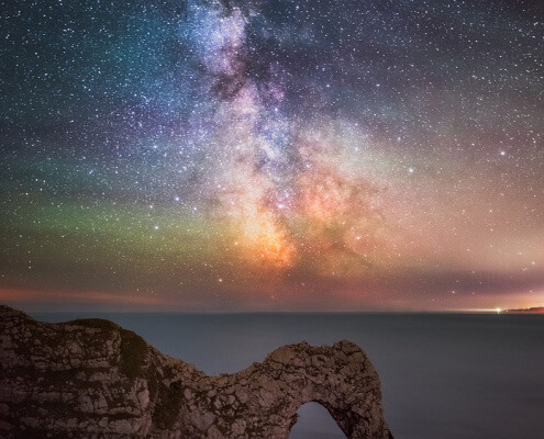 Durdle-Door-Arch-At-Night
