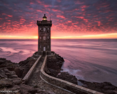 Phare de Kermorvan - Lighthouse in Brittany France