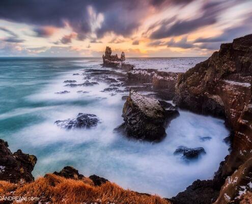 Iceland seascape