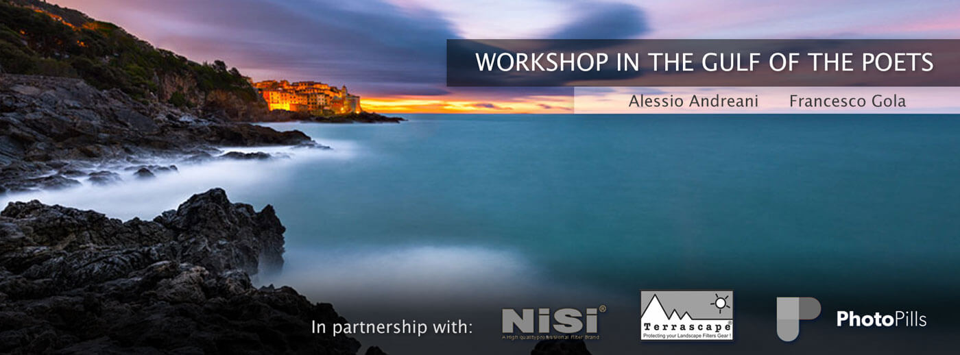 Photographic workshop the gulf of the poets ligury italy