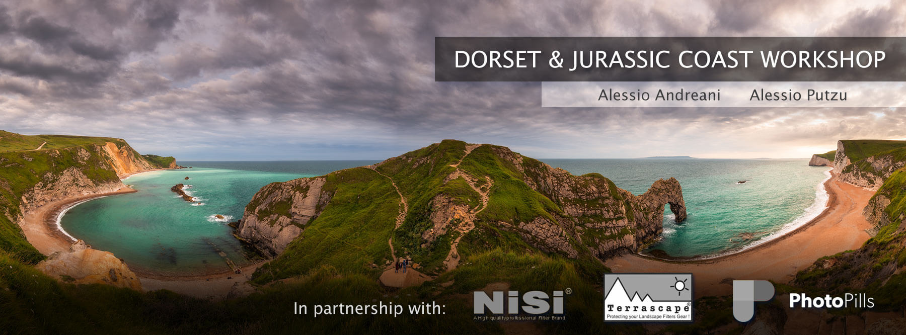 Jurassic Coast Photo Workshop Header
