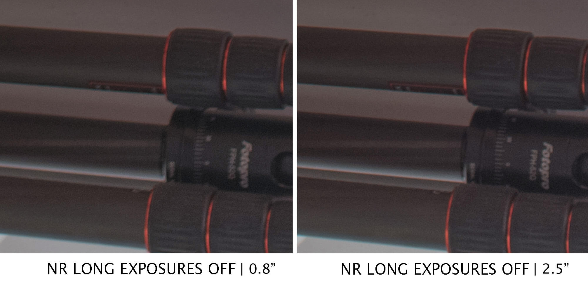 The new Nikon D850 has a problem with noise reduction on